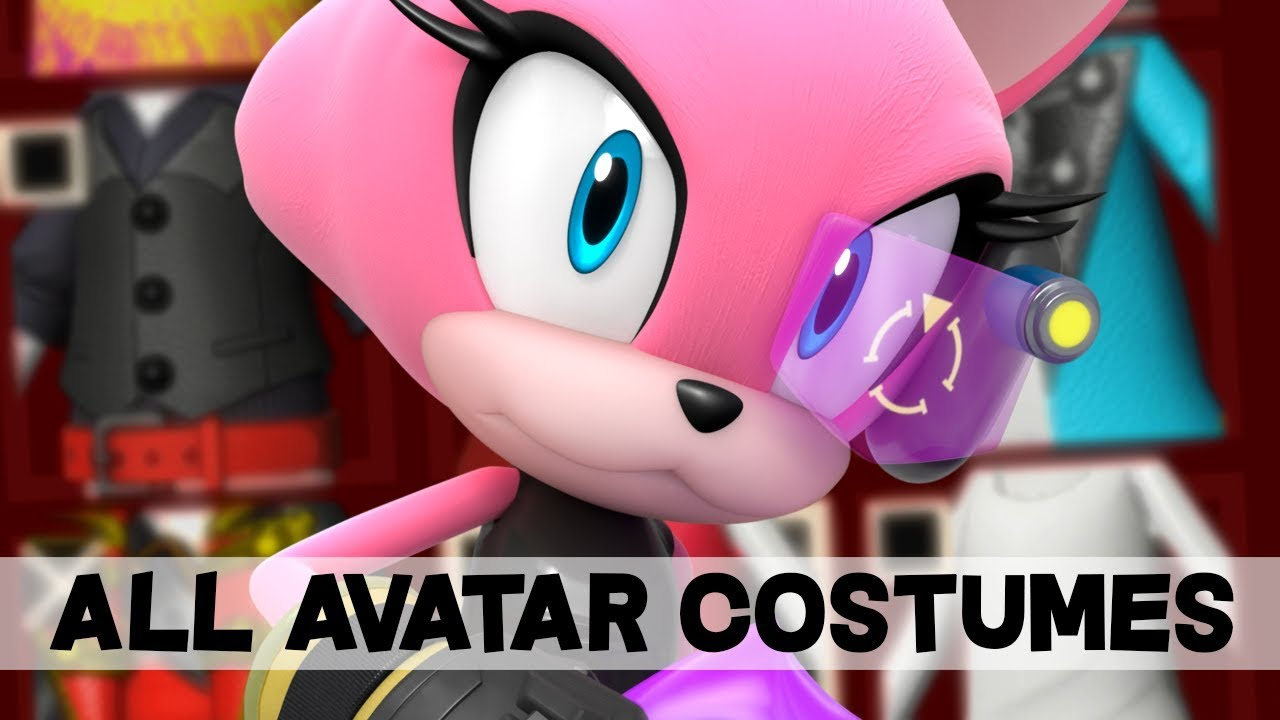 how to get shadow costume sonic forces