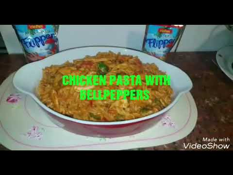 Chicken Pasta With Bell Peppers