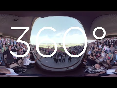360° VIDEO - Adelaide Cup 2016 from Member Grandstand