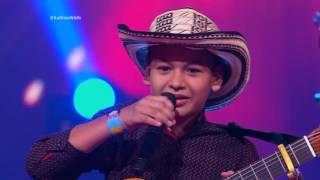 Javier cantó Cariño de madre de Gustavo Gutiérrez - LVK Col - Audiciones a ciegas - Cap 5 – T2