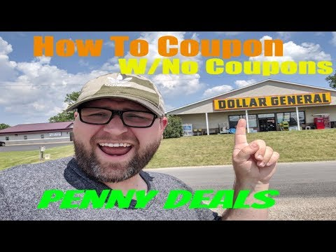 Dollar General Penny Shopping – Extreme Couponing With No Coupons