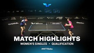 Daria Trigolos vs Mariia Tailakova | WTT Contender Doha 2021 | Women's Singles | QUAL Highlights