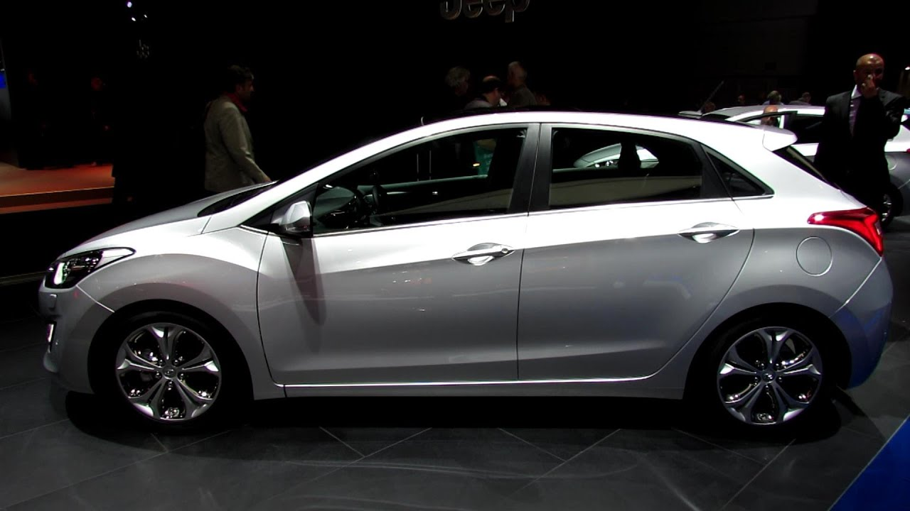 2014 Hyundai I30 Elantra Exterior And Interior