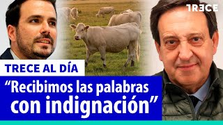 """ASAJA desarma a Garzón: """"Lo que ha hecho con estos ganaderos no tiene nombre"""""""