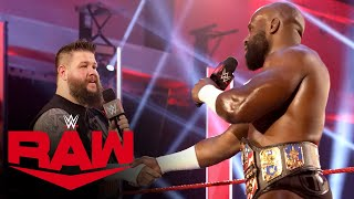 Apollo Crews gives Kevin Owens a U.S. Title opportunity: Raw, June 1, 2020