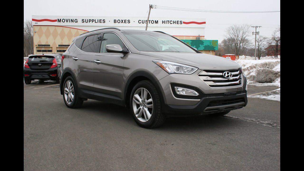 2015 hyundai santa fe sport 2 0t awd review and test drive youtube. Black Bedroom Furniture Sets. Home Design Ideas