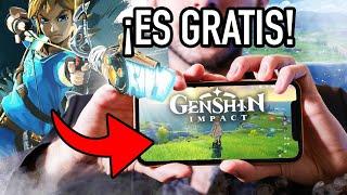 Genshin Impact: uno de los MEJORES JUEGOS GRATIS 😍 Copia de Breath of the Wild? Lo dudo! - 2020