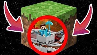 МИР НА 98% СОСТОЯЩИЙ ИЗ ГРЯЗИ! СМОТРИМ ДОМА ЖИТЕЛЕЙ ПОДЗЕМНОГО МИРА! Minecraft