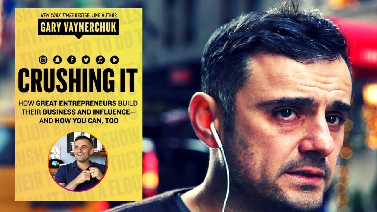 "Najnowsza książka Gary Vaynerchuk ""Crushing it"""