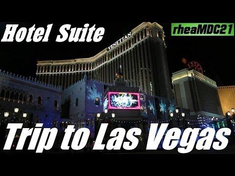 Travel to Las Vegas: My Trip to Vegas - The Venetian Luxury 1 King View Suite