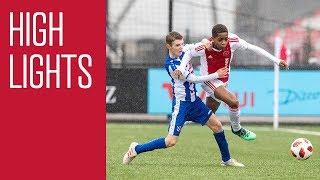Highlights Ajax O15  - SC Heerenveen O15