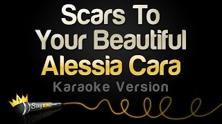 Video Alessia Cara - Scars To Your Beautiful (Karaoke Version) download MP3, 3GP, MP4, WEBM, AVI, FLV Maret 2018