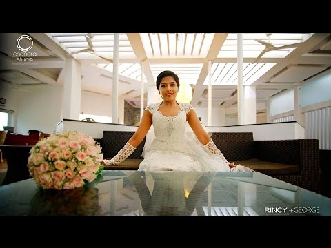 A Very Special Christian Wedding Video of Rincy + George by Chandra Studio