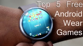 Top 5 Free Android Wear Games (Moto 360)