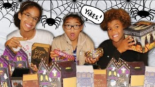DON'T CHOOSE THE WRONG MYSTERY BOX HALLOWEEN SLIME CHALLENGE