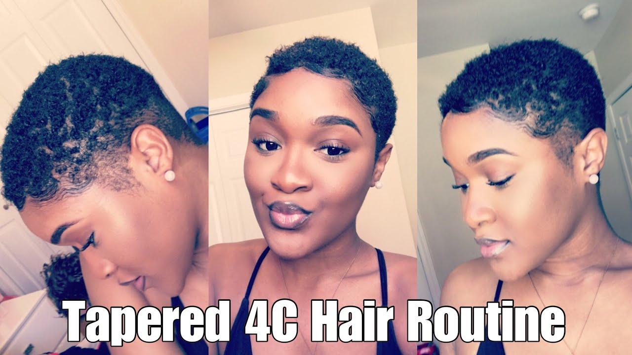 $20 natural hair care regimen (tapered twa, 4c)