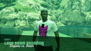 GTA5 Online PC (Snipers Vs Boats) 1 Man Army!