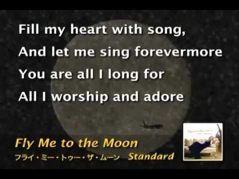 Frank Sinatra - Fly Me To The Moon - Karaoke Female