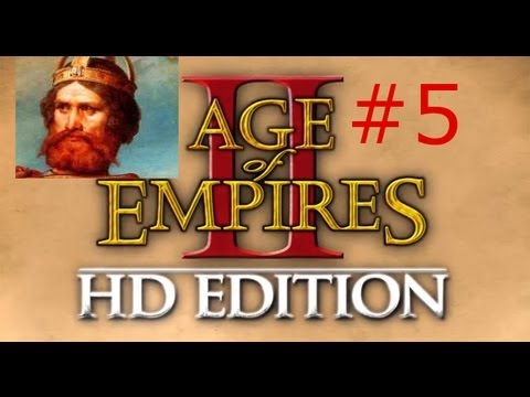 Age of Empires II HD w/ Arrancar Barbarossa Campaign #5 River Guard