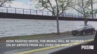 NEWARK, NJ LONGEST MURAL ON EAST COAST