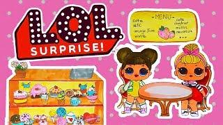 Chị Bánh Anh Đào | LOL Surprise Series | Strawberry Shortcake Cartoon  | Girls show