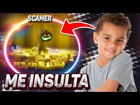 ME INSULTA y LE SCAMEO TODO SU INVENTARIO   Cazando Scammers #43