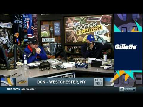 Boomer and Carton - Don (Imus) in Westchester call (Sour Shoes)