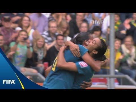 Bouncing Brazilian Goal Tops Matildas