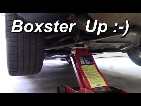 How To Lift A Porsche Boxster