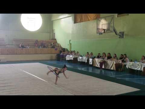 Чемпионат Армении по художественной гимнастике -30.07.2016 /Илона/Обруч/