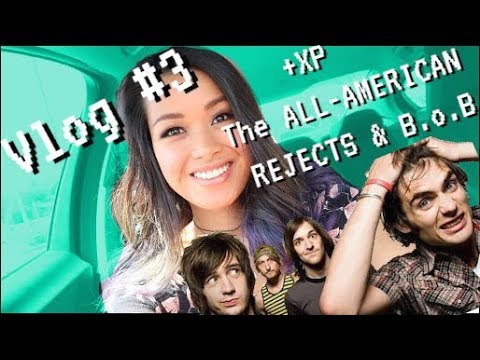 Raquel Lily - Vlog #3 OPENING FOR THE ALL-AMERICAN REJECTS and B.o.B.