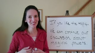 English Writing Skills 2: Commas and Capital Letters (Part 1 of 3)