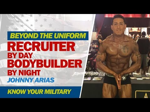 Beyond The Uniform: Recruiter by Day, Bodybuilder by Night