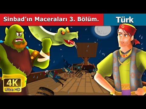 Denizci Sinbad'ın Maceraları 3 Bölüm  | Masal dinle | Türkçe peri masallar