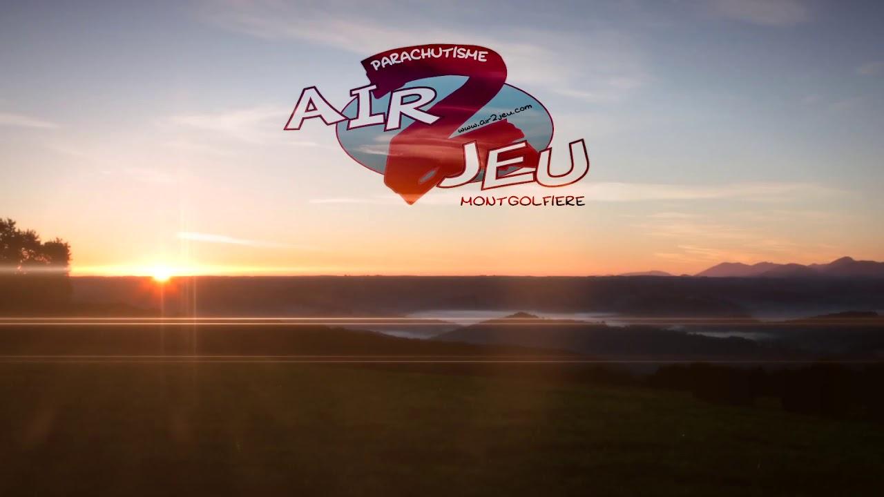 Hotairballoon flight Pyrénées France - YouTube