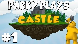 Let's Play Castle Story Sandbox Mode - Part 1 - Epic Plans!