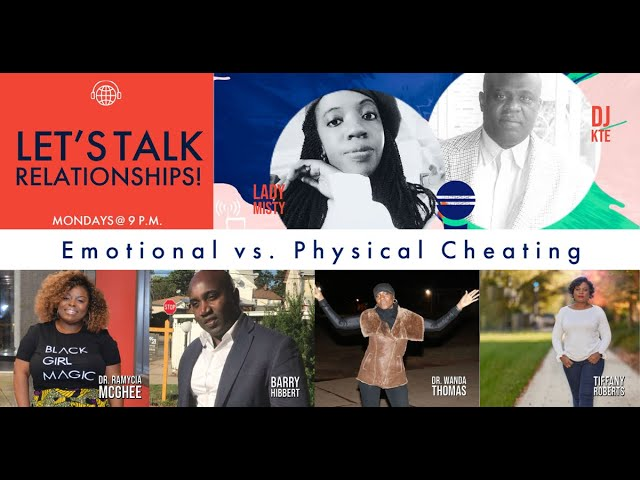 Emotional vs. Physical Cheating | Let's Talk Relationships with DJ KTE & Lady Misty | UMERADIO