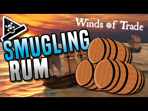 SMUGGLING RUM! Winds of Trade gameplay - new pirate game!