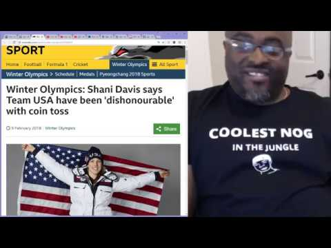 Shani Davis says Team USA have been 'dishonourable' with coin toss