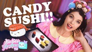 Popin' Cookin' Kawaii Candy Sushi | AATV Ep.001