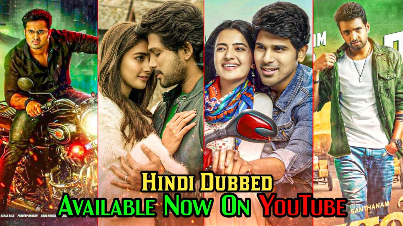 10 New South Hindi Dubbed Movies Available On YouTube | ABCD | Blup Master | Latest South Movie 2020