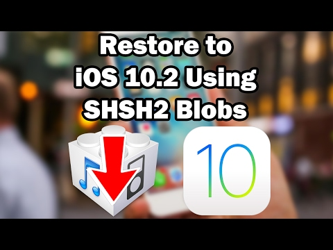 How to Restore to iOS 10.2 Unsigned Using Prometheus on iPhone, iPod touch or iPad