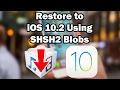 شرح طريقة ارجاع ايفون  للإصدارات المغلقة بواسطة الـSHSH