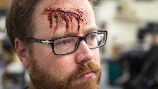 How To Apply a Realistic Bloody Wound or Scar Makeup