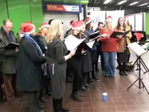 Merry Christmas from Health Poverty Action and the British Humanist Association Choir
