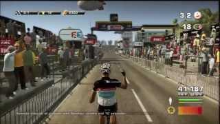 Tour De France 2012 - PS3 - [ Liege - Seraing ] - Stage 2 - F Shleck take them all