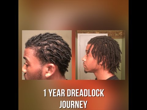 Dreadlock Journey: 1 Year