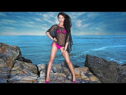 Exotic Beach Photo Shoot with Model by Arthur St. John
