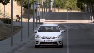 Новая Тойота Королла 2013-2014 Россия. Обзор. new Toyota Corolla 2014.