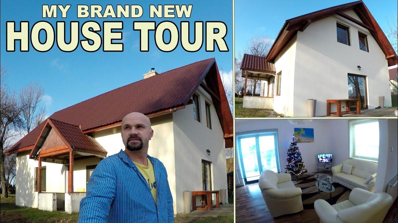 House Tour  My Brand New House In Poland Tour 2018 4k